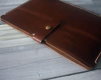Kindle Case Voyge Sleeve, Kindle Fire HD Covers, Leather Portfolio, 100% hand stitched / genuine leather, Custom All e-READERS