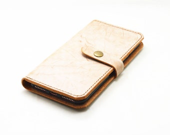 Genuine leather Wallet iPhone 7 Plus Case  IPHONE 7  leather Case , iphone 6s plus /  7 plus leather case  more than  English bridle leather