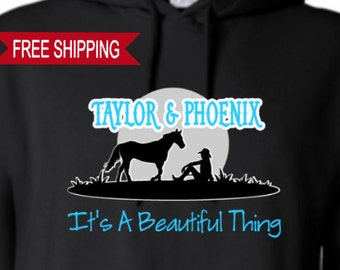 It's a Beautiful Thing - PERSONALIZED - Hoodie