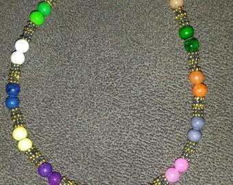 Gold and Beaded Bracelet89