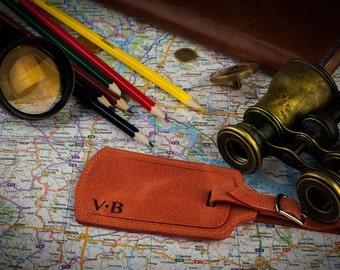 Luggage tag, wedding favors, Personalized luggage tag, Leather luggage tag, Bag tags, Monogram luggage tag, bridesmaid gift, id tag