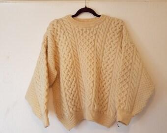 Vintage Chunky Knit Jumper