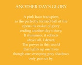 Another Day's Glory; ...
