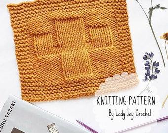 PATTERN: Saguaro Cactus Wash Cloth | Easy knit dish cloth | Textured cactus wash cloth | simple knit wash cloth | cactus kitchen decor