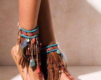"Sandals ""Caribbean"" (handmade to order)"