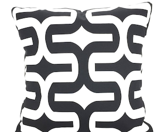 Black Throw Pillow Covers, Cushion Covers, Couch Pillows, Decorative Pillow, Bed Pillows, Embrace, Euro Sham, Throw Pillow One All Sizes