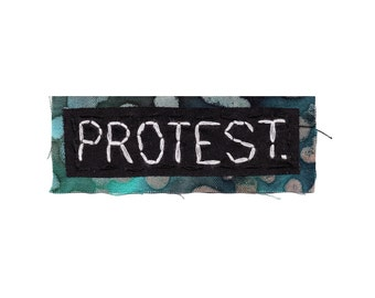 PROTEST pin || MINI PATCH Political Patch Women's Rights Iron On Patches black lives matter patch human rights equal rights civil rights