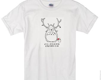 Studio Ghibli: My Neighbor Totoro White Christmas Tee