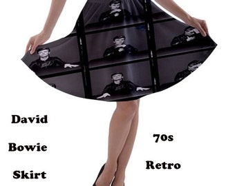 David Bowie Skirt, skirt, 70s, david bowie, glam rock, music, 80s music, 70s music, rock, fashion