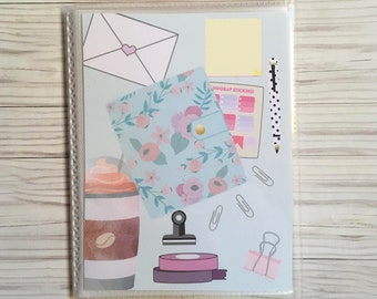 Plan day Sticker book Sticker organizer Sticker album Sticker Storage