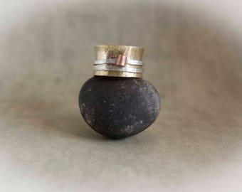 Spinner Ring, Gold Spinner Ring, Unique Wedding Ring