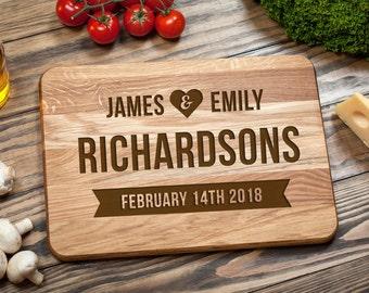 Personalized Cutting Board, Wedding Gift, Cutting Board,  Custom Cutting Board, Wood Cutting Board, Custom Wedding Gift, Anniversary Gift