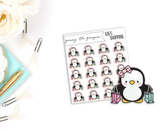 Penny the Penguin Shops | Character Stickers