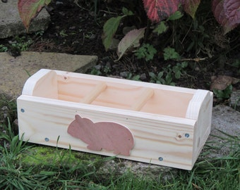 Guinea Pig Hay Feeder, Feeding Trough