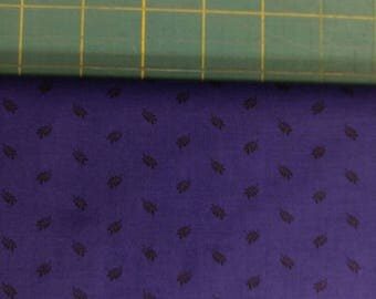 Feather fabric. Purple black feathers quilters cotton quilting PB P&B