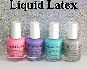 Liquid Latex - Peels Off For Easy Nail Art Cleanup
