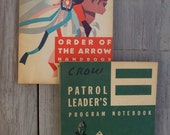 Set of 2 Boy Scout of America Books with 2 Scouting Catalogs - 1950/60's