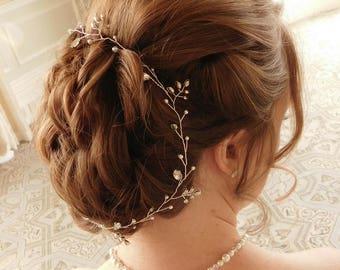 """Bridal Hair Vine - """"Sophie"""""""