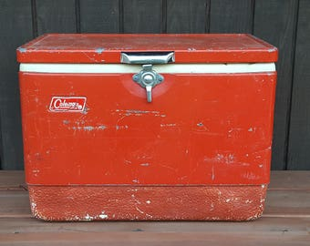 Mid Century Ice Chest Cooler By Coleman