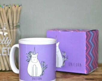 Unicorn Mug and Box