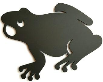 Frog Trivet - Frog lover gift - Frog themed kitchen - Decorative Trivet - Frog hot plate - Forest Kitchen theme - Housewarming gift