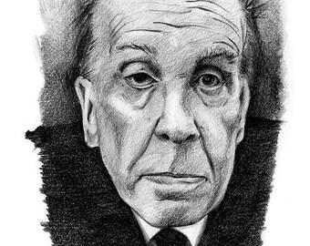 Borges | 5 x 7 Print