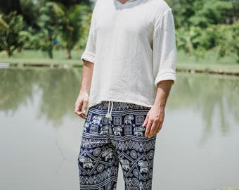 Men's Pants // Men's Clothing // Men's Bohemian // Men's Hippie Pants // Men's Boho // Men's Yoga Pants // Men's Meditation