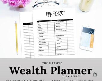 Budget Printable | Budget Planner | Budget Binder | Finance Binder | Finance Planner | Printable Planner | PBUD-1200-A | DIGITAL