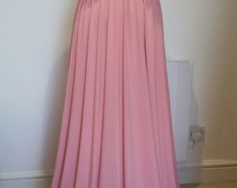 Infinity Dress Multiway Dress Convertible Dress Twist Wrap Dress Bridesmaid Dress Wedding Prom Evening Rose Pink One Size Fits All