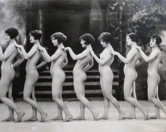 Albert Arthur Allen Photo, Coreography Female Figures in Line
