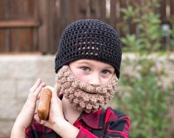 Beard Hat - Lumberjack Hat- Lumberjack Costume