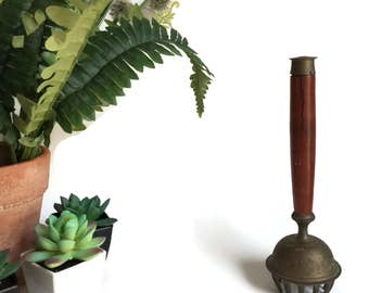 Indian Elephant Claw Bell with Wood Handle