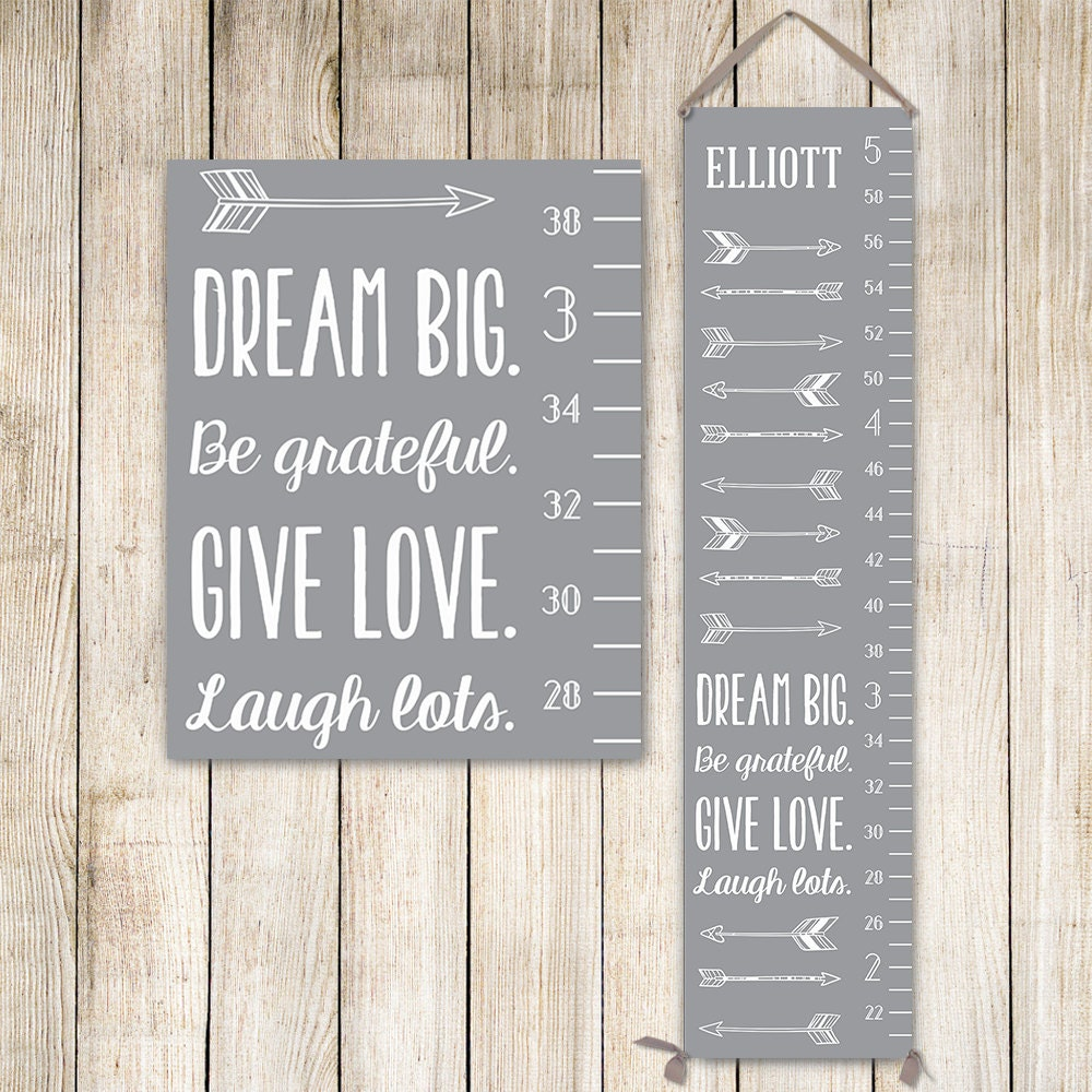 Modern growth chart personalized canvas growth chart grey kids modern growth chart personalized canvas growth chart grey kids art growth ruler growth chart ruler personalized kids art gc0002g nvjuhfo Gallery