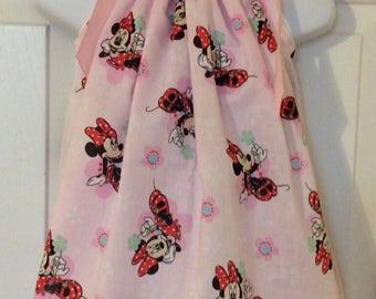 Minnie Mouse Pillowcase Dress Siz 18m