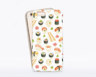 Sushi iPhone 6 Rubber Case iPhone 6 Plus Japan iPhone 7 Tough Case for Samsung S7 Case iPhone 5S Case iPhone 6S iPhone Tough Case CMRC01