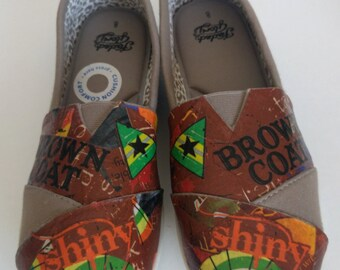 Serenity Firefly Ladies Canvas Shoes