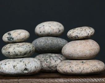 Zen Garden Stones - Rock Cairn - Relaxation Gift - Stress Relief - Baltic Sea Pebbles