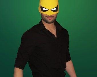 Iron Fist Mask Pepakura TEMPLATE