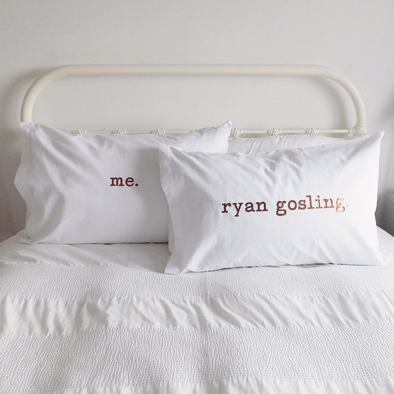 Personalised Wedding Gifts Pillow Cases : Personalised Pillow Case SetCouples GiftPillow CoversWedding ...