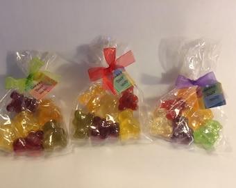 Gummy Bears Handmade Glycerin Soap