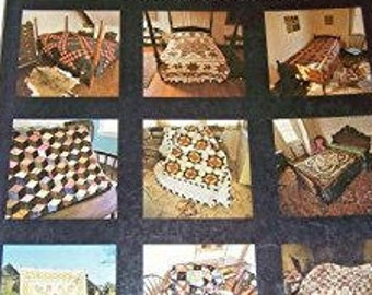 Book:  American Quilts and How to Make them by Carter Houck and Myron Miller