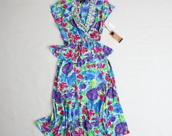 floral peplum dress | floral dress | spring floral dress