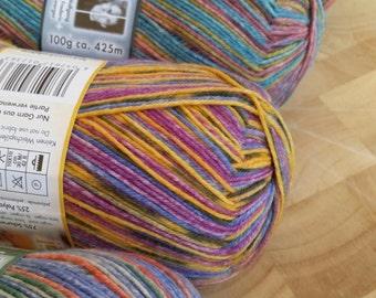Opal sock yarn, BEST FRIENDS, 4 Ply , 100g, 425 mts, wool and nylon