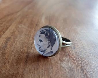 F. Scott Fitzgerald - Adjustable Ring