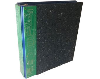 3-Ring Binder Recycled Tire Rubber Reclaimed Circuit Board E-Waste
