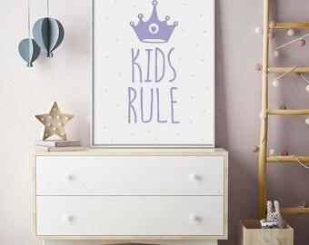 Nursery Prints, Nursery Wall Art, Nursery Decor, Baby Prints, Baby Wall Art, Baby Girl Prints, Baby Boy Prints, Baby Shower Prints, Kids