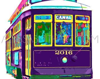 Streetcar Print