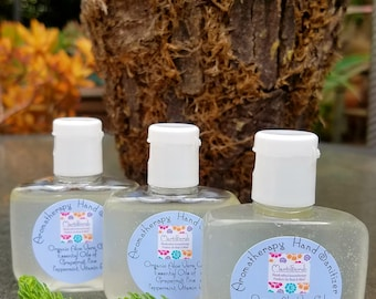Aromatherapy Hand Sanitizer with Aloe Vera Gel, Alcohol-free, 3Pack