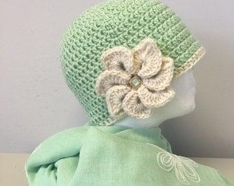 STAR...Crocheted Women's Hat
