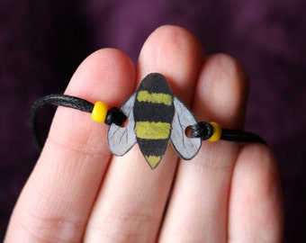 Save the Bees Bracelet / Earth Day / Donation / Bee Bracelet / Environment / Save the Earth